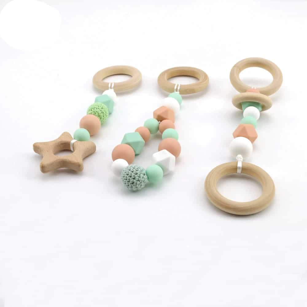 Baby Wooden Pendant Toys