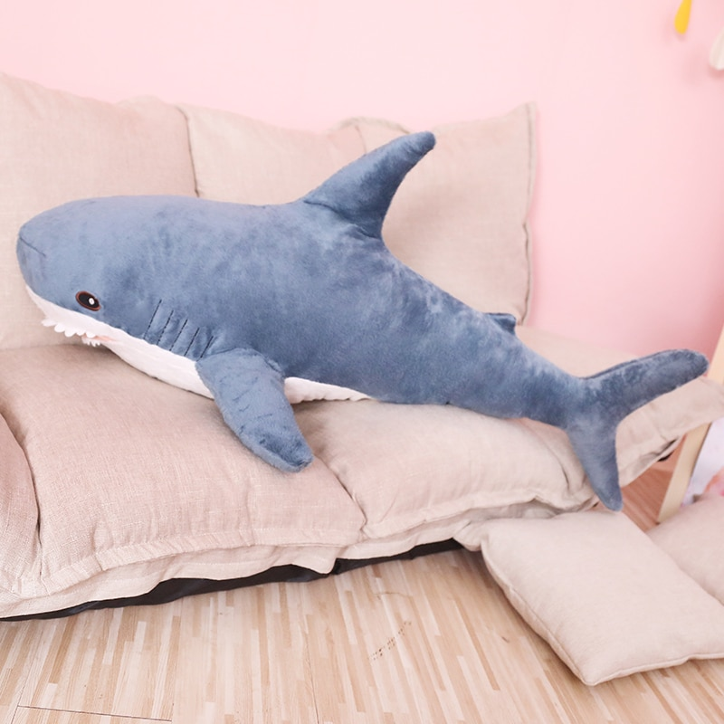 Big Soft Shark Plush Toy