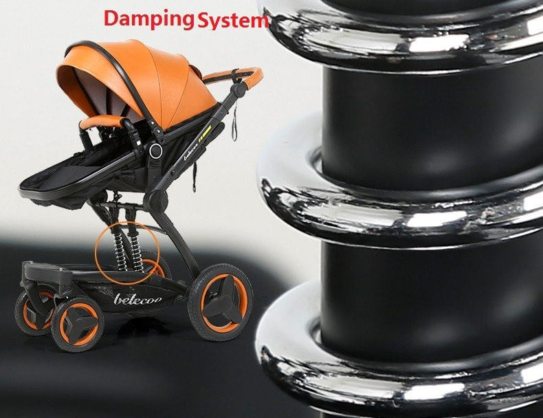 Baby's Folding Stroller with Aluminum Frame