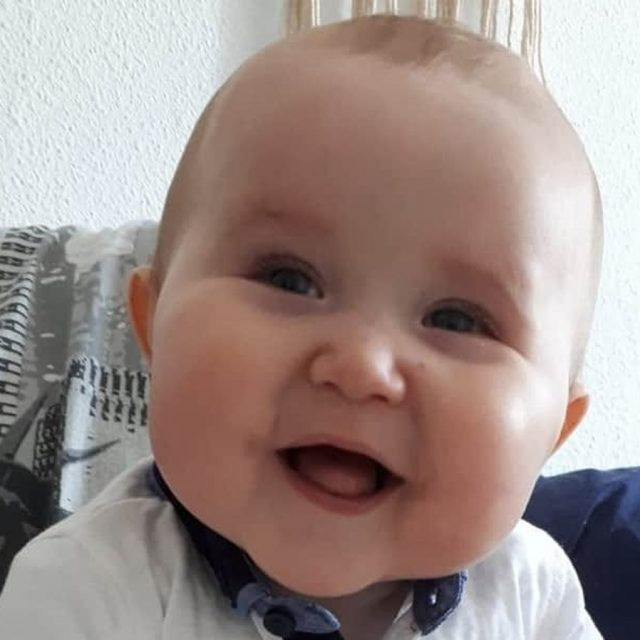 Baby Health in Winter Baby Cody is a brave fighter helped by EU safety net