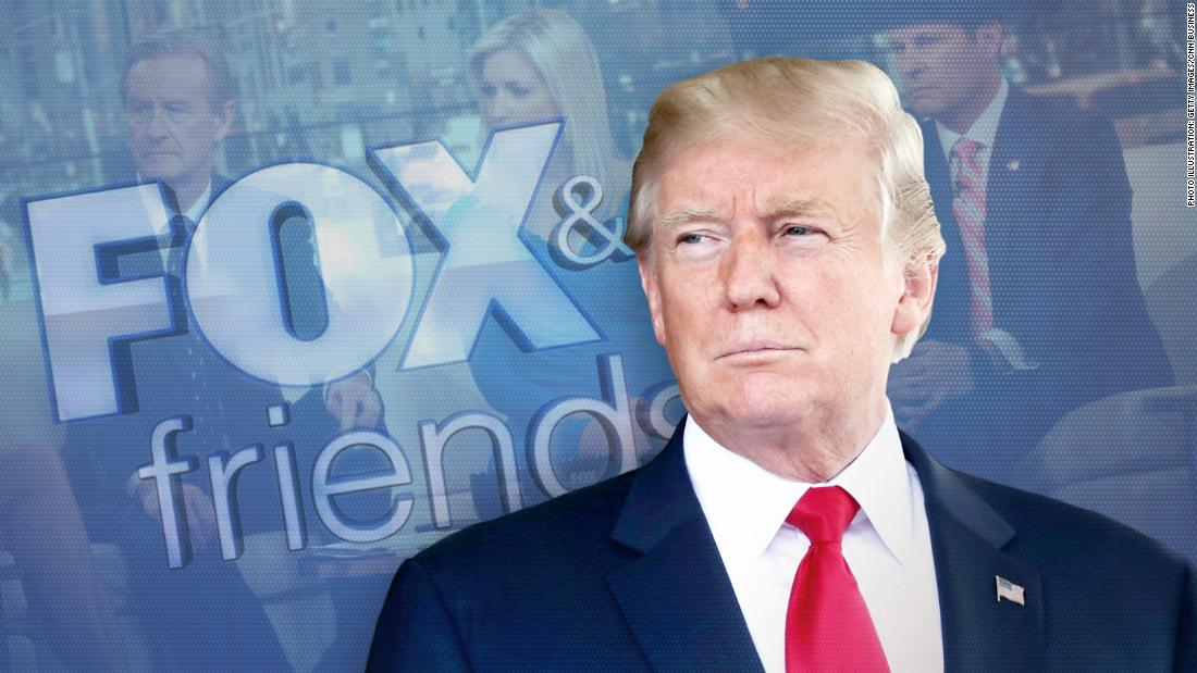 Healthy fod for babies The relationship between Donald Trump and Fox News