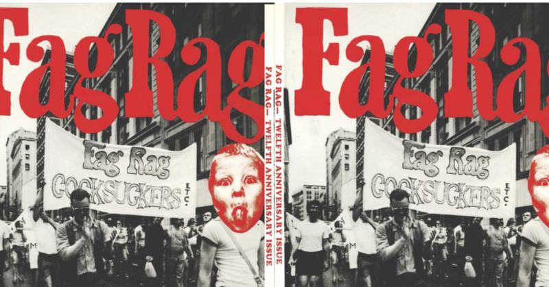 Baby Health in Winter Fag Rag: The '70s paper of gay political revolution